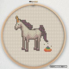 Hey, I found this really awesome Etsy listing at https://www.etsy.com/listing/232934039/unicorn-poop-cross-stitch-pattern