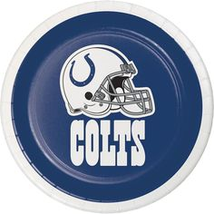 (96/case) Indianpolis Colts 7'' Luncheon Plates