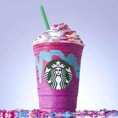 Der neue Unicorn Frappuccino ist seit dem 19. April bei Starbucks in den USA erhätlich.
