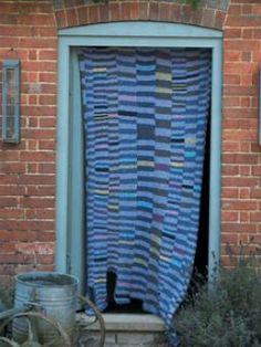 Kaffe Fassett, designer, using Summer Tweed as featured in Rowan Knitting & Crochet Magazine 47, Kaffes Summer House Online Collection, knitrowan.com