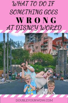 Disney World tips and tricks for handling things when they go wrong. What do you with My Disney Experience app going down or rides not running? Disney World planning tips will help you. Disney World Secrets, Disney World Hotels, Disney World Food, Disney World Magic Kingdom, Disney World Parks, Walt Disney World Vacations, Disney World Tips And Tricks, Disney World Vacation Planning, Disney Planning