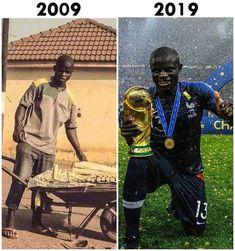 N'Golo Kanté Never give up on your dreams Football Players Images, Football Gif, Football Memes, Soccer Players, Sport Football, Football Soccer, Tony Robbins, Champions League, Fifa