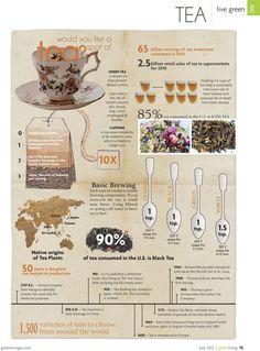 green ta benefits graphic | QUINTAIS IMORTAIS: Benefits of tea - infographic