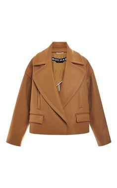 Rochas Wool Cashmere Oversize Jacket by Rochas for Preorder on Moda Operandi Coats For Women, Jackets For Women, Cashmere Jacket, Oversized Jacket, Brown Jacket, Winter Coat, Blazers, Winter Fashion, Kimono