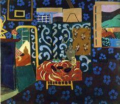 "Henri Matisse ""Still Life with Aubergines"" (1911) oil on canvas."