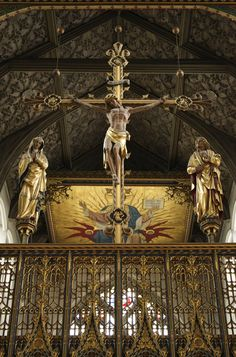 Rood screen unidentified