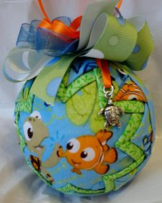 Disney's Nemo Inspired Quilted Christmas Ornament