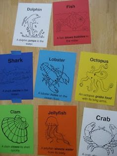 Ocean Animal Movements. Get kids moving inside when the weather outside is too cold (or hot). Add a sea creature craft to finish off the activity.