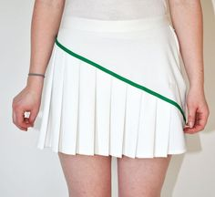 Vintage 1980s PLEATED Sergio Tacchini Tennis SKIRT in by Continual