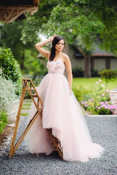 gorgeous blush gown | Jonathan Ivy Photography | Glamour & Grace