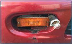 """Liebe AutoErlebniswelt Freunde, es ist immer wieder Klasse, was wir auf den Prüfstellen zu sehen bekommen. Bei diesem Fahrzeug, lautete einer der vielen Mängel: """"Begrenzungsleuchte vorne rechts beschädigt / ohne Funktion"""". Das ist die Reparatur, die uns der Kunde vorgestellt hat...!!! Eure AutoErlebniswelt-Tü Taunus"""