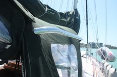 No doubt this is THE most important handhold on our boat ... see why!  commuterCRUISER.com