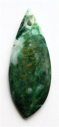 African Jadeite Pendant Stone by StoneCollector on Etsy, $12.99