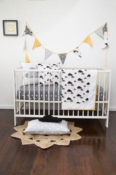 Stormy cot collection by alphabet monkey..the ABC of cool boys spaces. www.alphabetmonkey.com.au