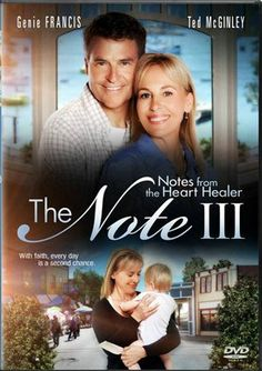 The Note III: Notes From the Heart Healer - Christian Movie, Christian Film, DVD, Genie Francis, Hallmark Good Christian Movies, Christian Films, Christian Music, Family Movie Reviews, Family Movies, Genie Francis, Movie To Watch List, Inspirational Movies, Star Wars