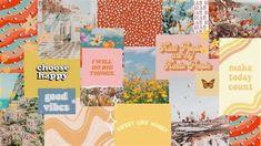 Desktop Background Aesthetic Collage | Computer Wallpaper