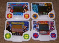 Tiger LCD Games