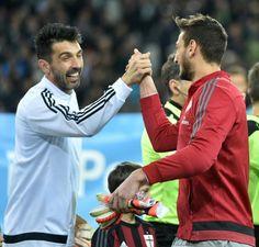 Buffon e Donnarumma