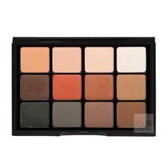 viseart eyeshadow palette 01 matte neutral