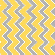 Riley Blake Designs Chevron Kayak Yellow Gray Medium Quilting Apparel Fabric BTY