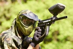 Get a paintballing day for 2 inc. 100 balls & lunch with Amazon Events.