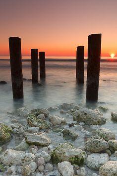 Honeymoon Beach, Dunedin, FL ....