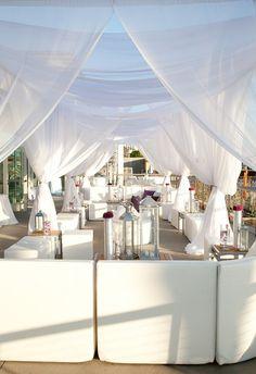 Decoración Chillout boda  playa