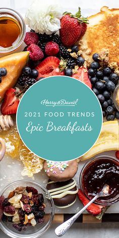 Give breakfast the attention it deserves this year by creating some epic breakfasts. Harry And David, Easy Entertaining, Food Trends, Charcuterie Board, Cooking Classes, Wines, Make It Yourself, Fruit, Breakfast
