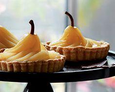 Elegant Pear & Roquefort Tarts