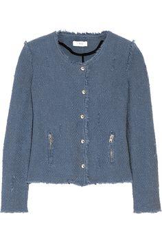 Shop on-sale IRO Agnette cotton-bouclé jacket. Browse other discount designer Jackets & more on The Most Fashionable Fashion Outlet, THE OUTNET.COM