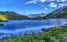 Download wallpapers Switzerland, 4k, alpine lake, Alps, HDR, San Bernardino, Europe
