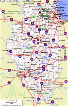 Map of Illinois - Day 2