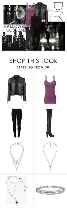 """Sin City ~ Becky"" by cheryl-82 ❤ liked on Polyvore featuring Boohoo, Dorothy Perkins, Aquazzura, Lucky Brand, Gucci, Jewel Rocks, Humble Chic, La Preciosa, Becky and halloweencostume"