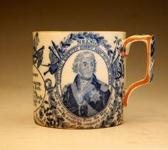 19th Century English Pottery - Lustreware, Pearlware, Creamware - Antique Staffordshire Pottery of John Howard