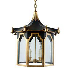 The Pagoda Lantern - Traditional Transitional Pendant Shop Pendant Lights, Standard Lamps, Lamp, Chinoiserie, Lanterns, Pendant Lamp, Pagoda Lanterns, Transitional Pendant, Chandelier