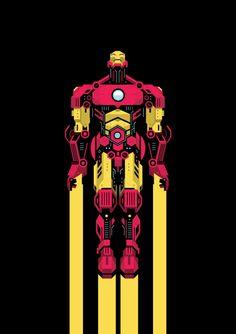 Iron Man Created byYann Le Nevé | HeroChan