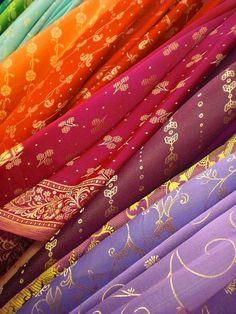 Beautiful Indian Sari fabric