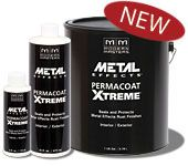 Permacoat Xtreme (AM204)  Permacoat Xtreme is an all-in-one water base, clear non-yellowing, protective sealer and topcoat designed to work over Metal Effects Rust Activated Iron Paint. This innovative clear coat chemically arrests the oxidized metal finish, minimizing any further corrosion, and then self-crosslinks to create a weather resistant barrier     Sizes Available:  4 oz. • Pint • Gallon  Coverage: 275 sq. ft./gallon applied as directed