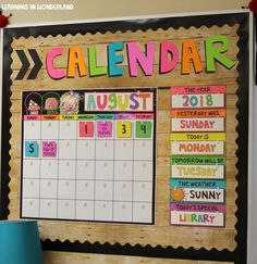 Most current Photo preschool classroom calendar Style Think you're a completely new teacher that's wondering exactly how to create a new toddler class room? Classroom Walls, Classroom Design, Classroom Displays, Future Classroom, Classroom Organization, Classroom Ideas, Preschool Classroom Decor, Classroom Wall Decor, Classroom Inspiration