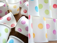 Stamped Party Cups