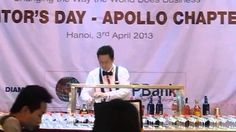 Chuyên gia pha chế Nguyễn Thế Hùng Interbeso biểu diễn pha chế cocktail từ Hibiscus   http://www.youtube.com/watch?v=eW-r5JOwhzY