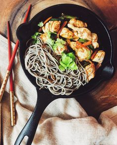 Buckwheat soba with chicken and vegetables - Dietetic Aesthetic | Capture the flavor  #delicious, #healthy, #eeeeeats, #food, #instafood, #nycfood, #buzzfeedfood, #buzzfeast, #newforkcity, #nyceats, #rd2be, #health, #nutrition, #dieteticaesthetic, #foodstagram, #feedfeed, #foodie, #f52grams, #spoonuniversity, #foodporn, #newforkcity, #huffposttaste, #feedfeed, #feastagram, #spoonfeed, #collegeeats, #nom, #nyc