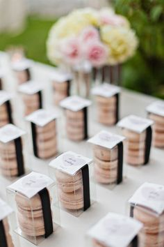 Elegant Wedding Favor Ideas
