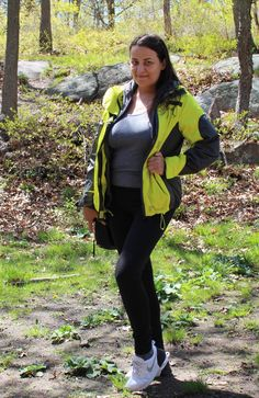 Hi guys. Today I present outfit from a walk in the woods with my new Victoria's Secret Knockout pants that I got on sale at www.victoriassecret.com. I like wearing leggins lately, as it is gr…