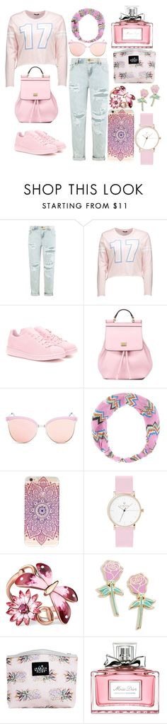 """make your life very simple"" by adan2001 ❤ liked on Polyvore featuring OneTeaspoon, adidas Originals, Dolce&Gabbana, Quay, Missoni Mare, Laruze, Gucci, Big Bud Press, Jessica Russell Flint and Christian Dior"