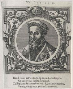 Lazius, Wolfgang (1514-1565) Past, Frames, Portraits, Black And White, Past Tense, Black N White, Frame, Head Shots, Black White