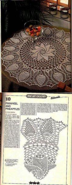 Kira scheme crochet: Scheme crochet no. Love Crochet, Thread Crochet, Beautiful Crochet, Crochet Stitches, Crochet Baby, Knit Crochet, Crochet Square Patterns, Crochet Motif, Crochet Doilies