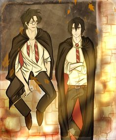 Mr. Padfoot with Mr. Prongs! Look at my Marauders board too!