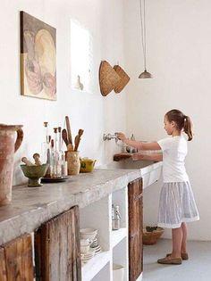 Supreme Kitchen Remodeling Choosing Your New Kitchen Countertops Ideas. Mind Blowing Kitchen Remodeling Choosing Your New Kitchen Countertops Ideas. Küchen Design, Design Case, House Design, Interior Design, Rustic Design, Creative Design, Design Ideas, Interior Modern, Wood Design