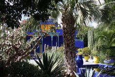 Marrakech , la villa Majorelle.